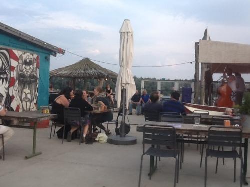 A Beach Bar in Amsterdam