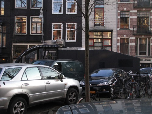 Chaotic parking in Amsterdam