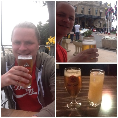 A beer in France, Monaco and Italy